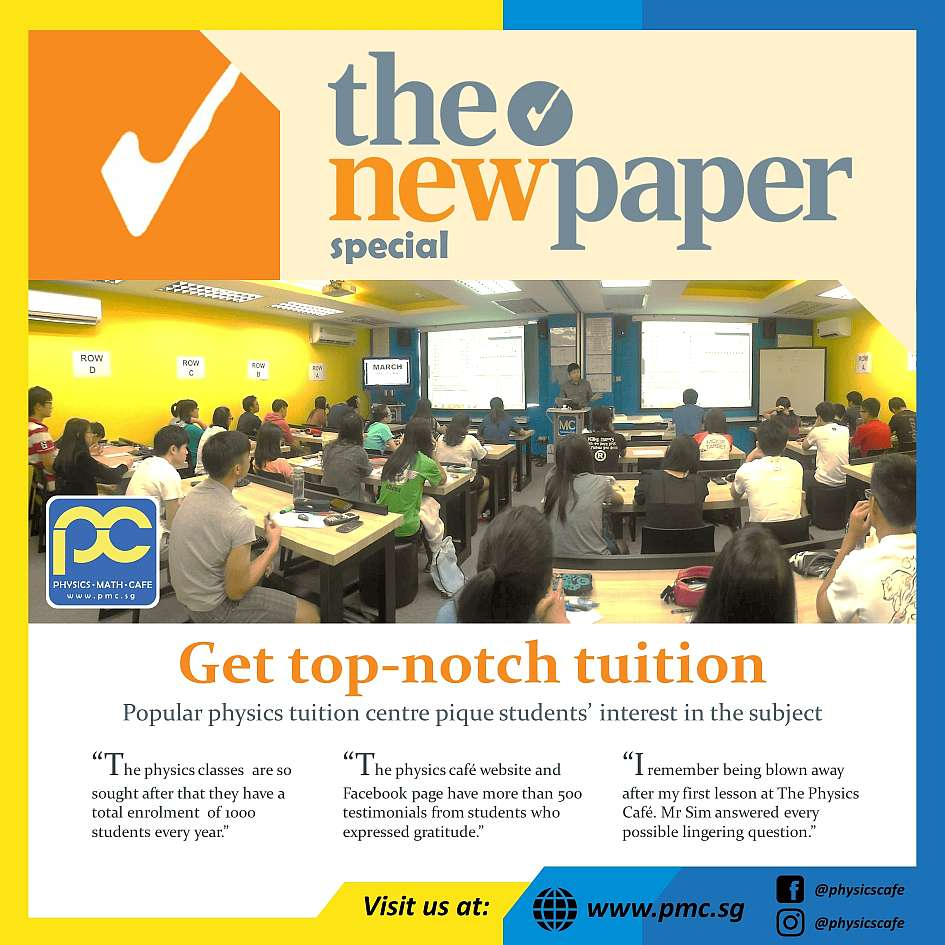 Most Popular and Reviewed Physics Tuition Centre in