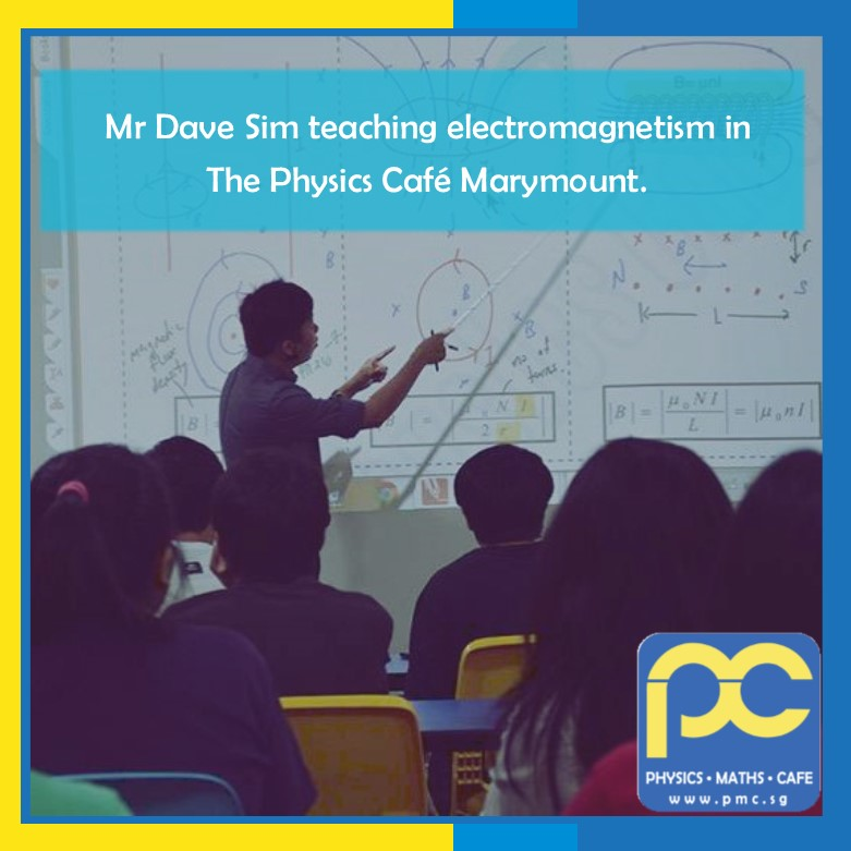 Photos of The Physics Cafe and The Maths Cafe