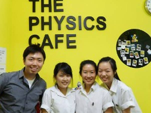 Physics Cafe Testimonial